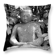 Bold Buddah Throw Pillow