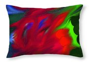 Boldly Into The Stream Throw Pillow