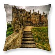 Bolsover Castle Throw Pillow