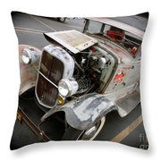 Bomber Style Model A Throw Pillow