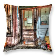 Bon Secour Door Throw Pillow
