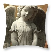 Bonaventure Angel 4 Throw Pillow