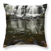 Bond Falls 2 Throw Pillow
