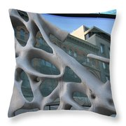 Bond Street Sculpture Throw Pillow