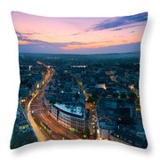 Bonn Skyline Throw Pillow