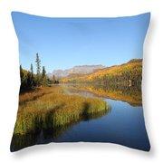 Bonnie Lake Throw Pillow