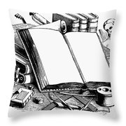 Books: Decorative Cuts Throw Pillow