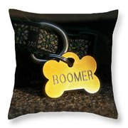 Boomer Gear Throw Pillow