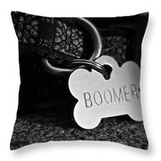 Boomer's Throw Pillow