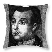 Boris Godunov (c1551-1605) Throw Pillow