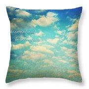 Born Again Throw Pillow