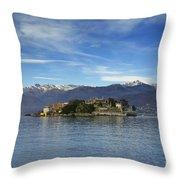 Borromee Islands Throw Pillow