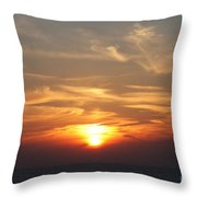 Bosphorus Sunset Marmara Sea Throw Pillow