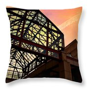 Boston - Faneuil Hall Market Place Throw Pillow