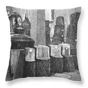 Boston: Industrial Fair Throw Pillow