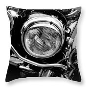 Boston Police Harley Throw Pillow