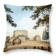 Boston: Theater, 1798 Throw Pillow
