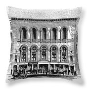 Boston: Tremont Temple Throw Pillow by Granger
