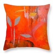Botanica 1 Throw Pillow