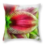 Botanical 01 Throw Pillow