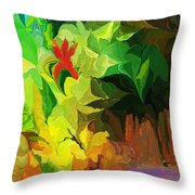 Botanical Fantasy 091612 Throw Pillow
