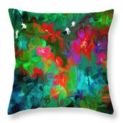 Botanical Fantasy 103112 Throw Pillow