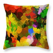 Botanical Fantasy 110512 Throw Pillow