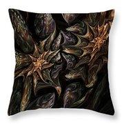 Botanical Fantasy 123011 Throw Pillow