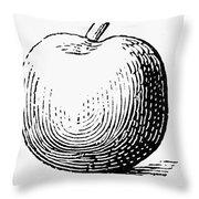 Botany: Apple Throw Pillow