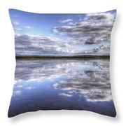 Bottentnen Lake  Throw Pillow
