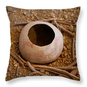 Bottle Gourd Throw Pillow