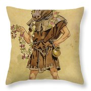 Bottom - A Midsummer Night's Dream Throw Pillow