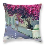 Bouganvillaea Throw Pillow