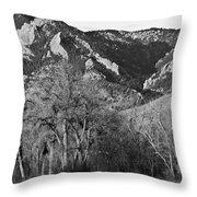 Boulder Colorado Front Range Ncar View Throw Pillow