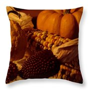 Bountiful Harvest Throw Pillow