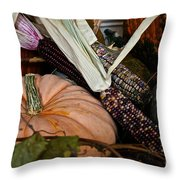 Bountiful Midwest Throw Pillow