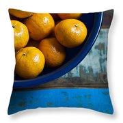 Bounty Throw Pillow by Tammy Lee Bradley