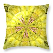 Bouquet Of Roses Kaleidoscope 12 Throw Pillow