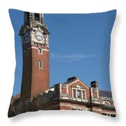 Bournemouth College Throw Pillow