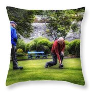 Bowlers Throw Pillow
