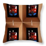 Boxcar Throw Pillow