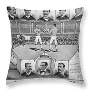 Boxing: American Champions Throw Pillow