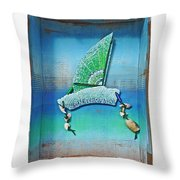 Boxing The Compass Throw Pillow