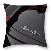 Boxster Throw Pillow