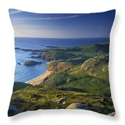 Boyeeghter Strand And Melmore Head Throw Pillow