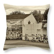 Boyertown No Place For Hate Throw Pillow