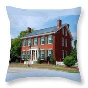 Boyhood Home Throw Pillow