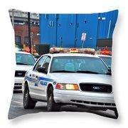 BPD Throw Pillow
