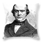 B.r. Curtis (1808-1874) Throw Pillow