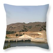 Bradbury Dam Throw Pillow